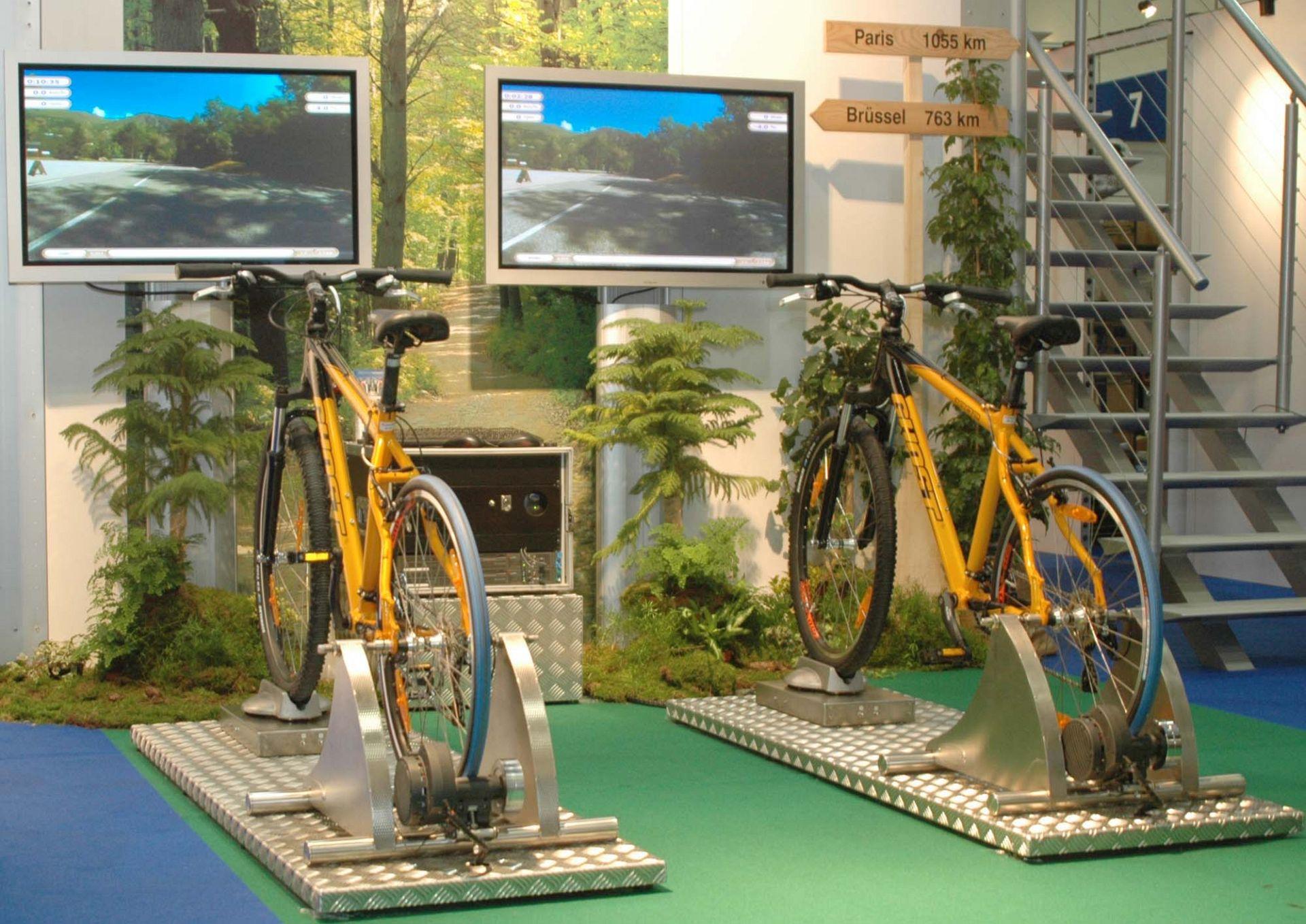 3e60 Events Idee Simulatori Mountain Bike Simulator