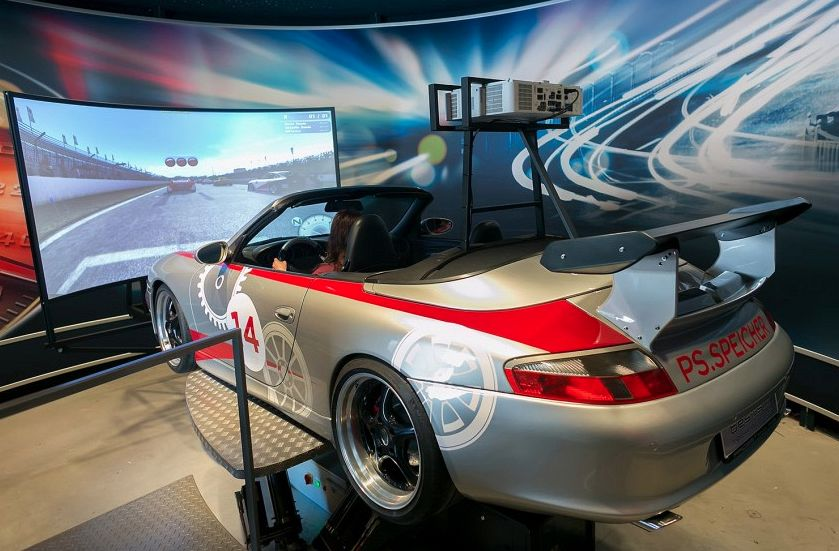 Full-motion-simulator customized