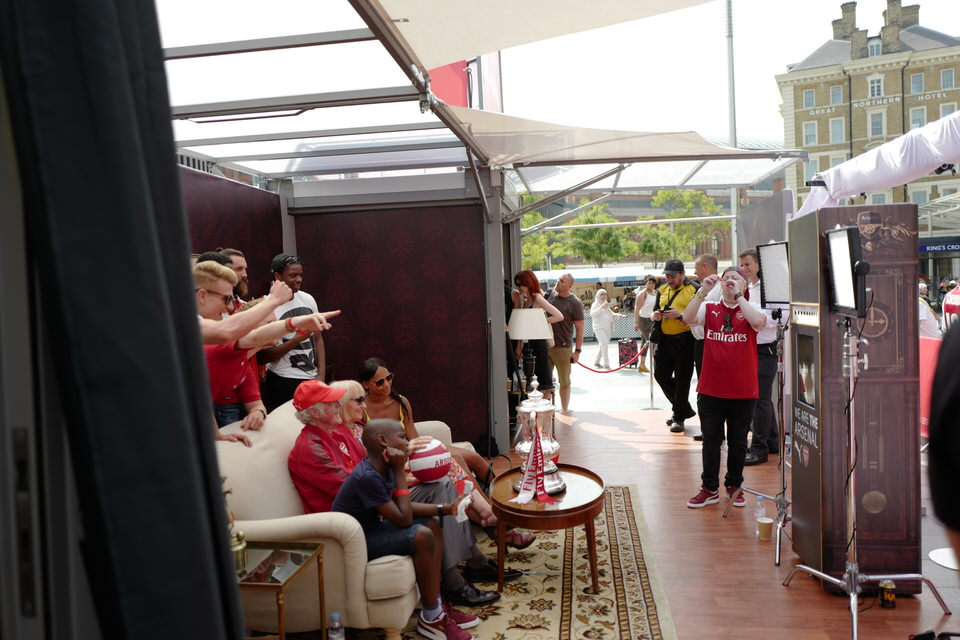 puma, arsenal FC kit, sponsorship activation, club kit lancio, attivazione sponsorizzazione, fans engagement, sport marketing, marketing esperienziale, experiential marketing, modulbox, club new jersey launch, 3e60sport