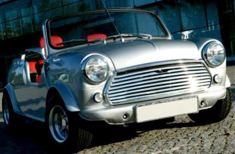 Mini convertible - old