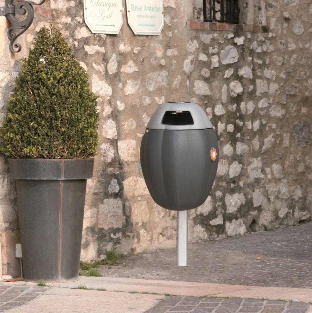 Arredo urbano cestini in legno for Arredo giardino vicenza