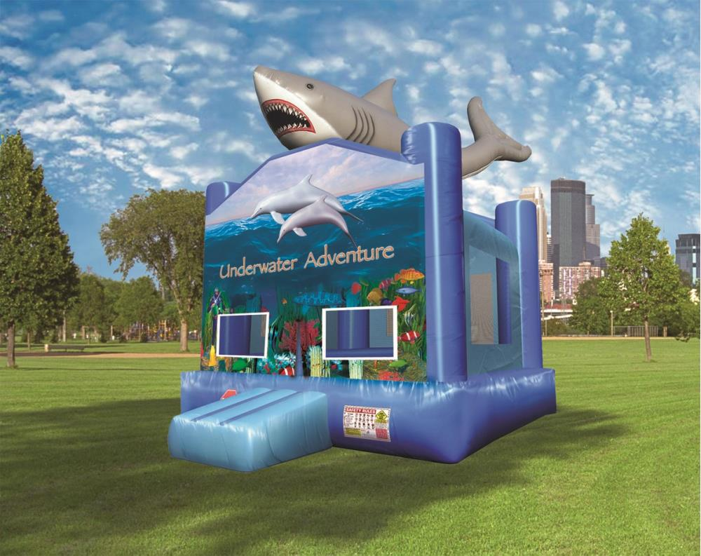 Underwater Adventure A-Frame With Shark