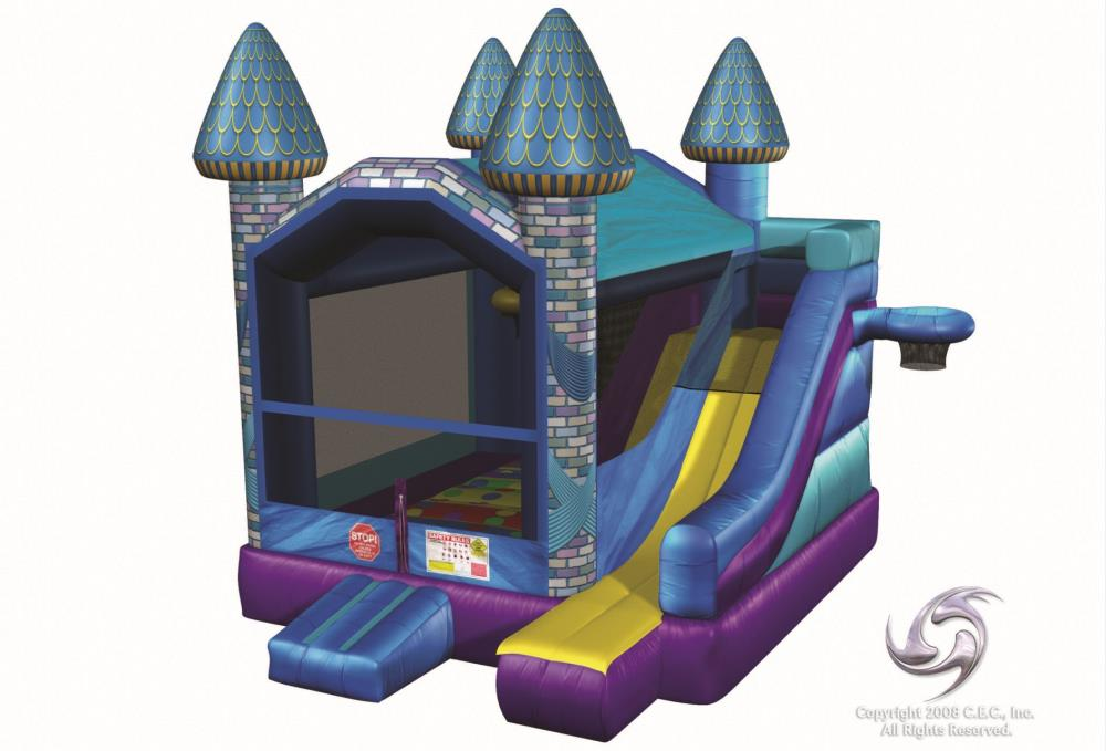 Castle 5-in-One Bouncer Combo