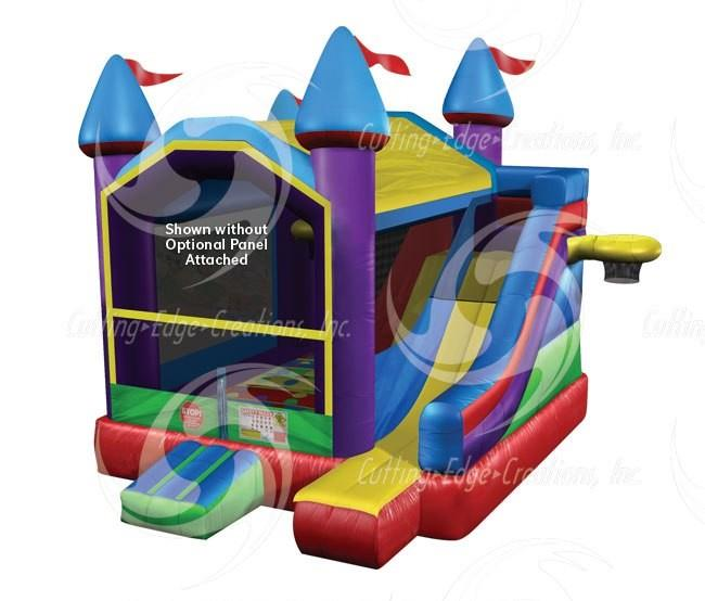 Wacky Castle 5-in-One Bouncer Combo