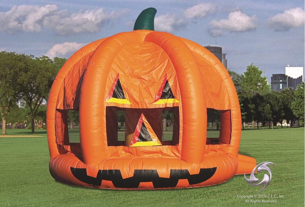 Inflatables Game Bouncers And Combos Pumpkin Bouncer 15