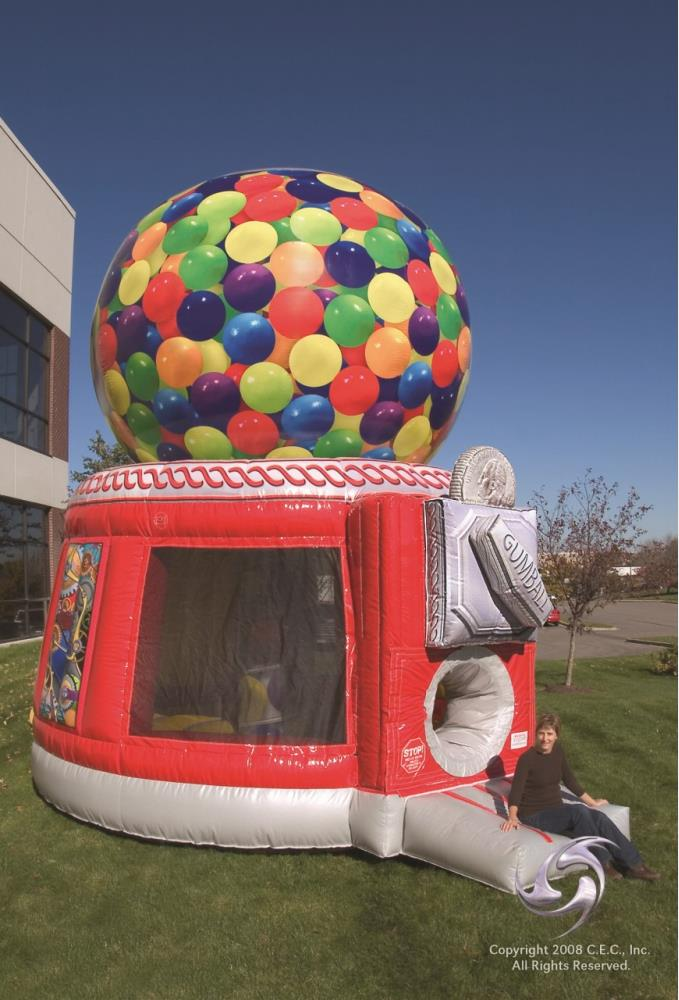 Gumball Machine™ Bouncer - Used - Available from end of September