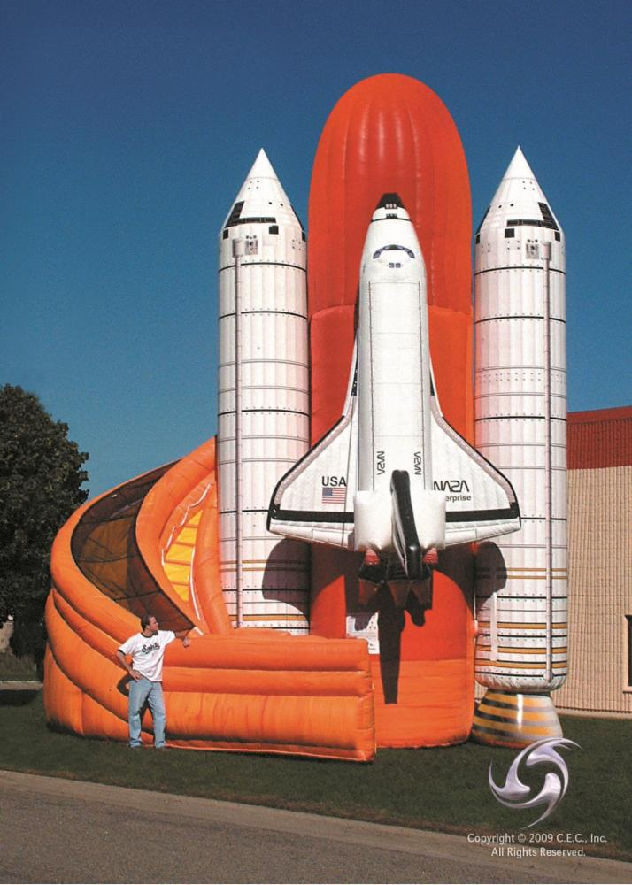Turbo Slide - Space Shuttle