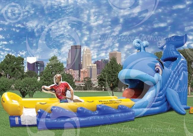 Wally Whale Jr  Water Slide