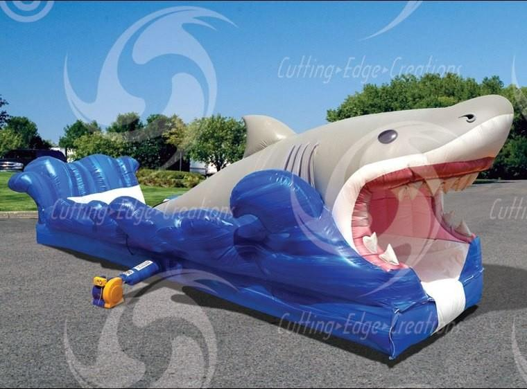 Shark Big Bite Water Slide