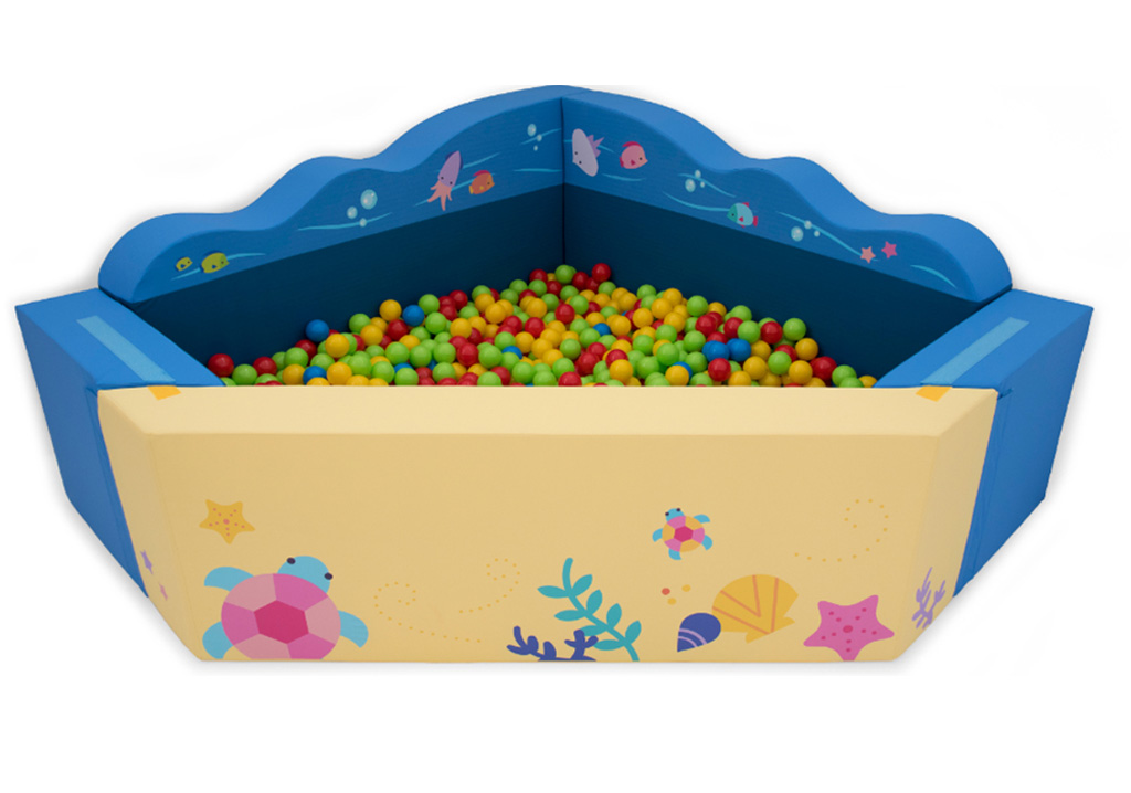 Pool Balls Sea with bottom mattress