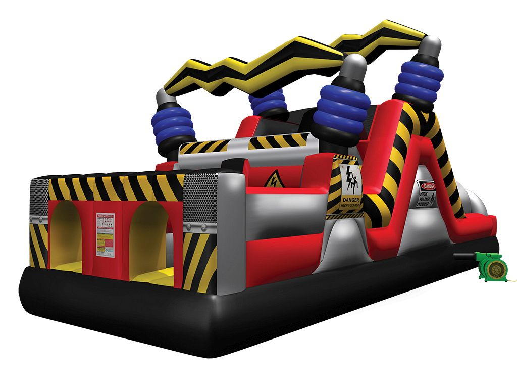 High Voltage™ Mini Obstacle Inflatables