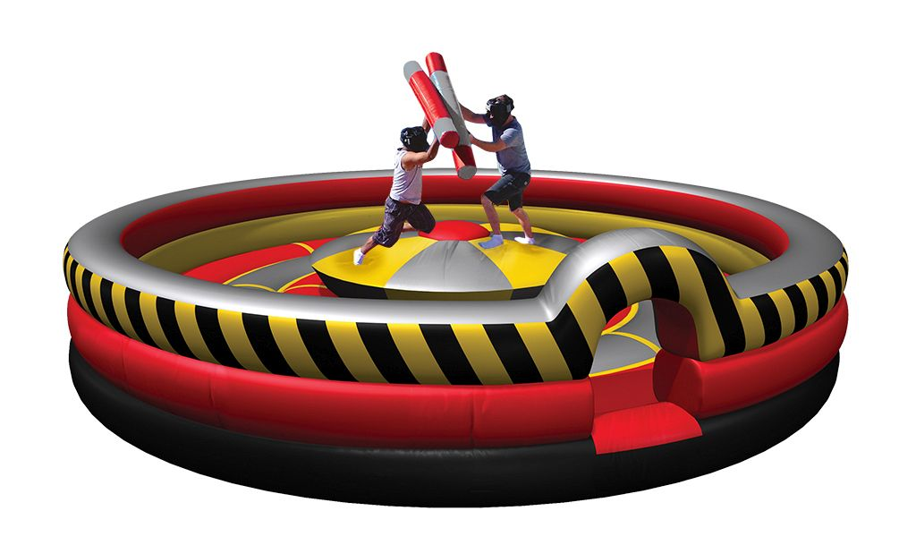 High Voltage Rock & Joust™ Inflatables