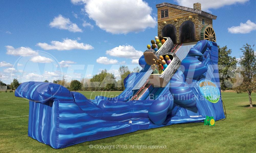North Woods Flume Slide Inflatables - Used 2 Years - Available from September