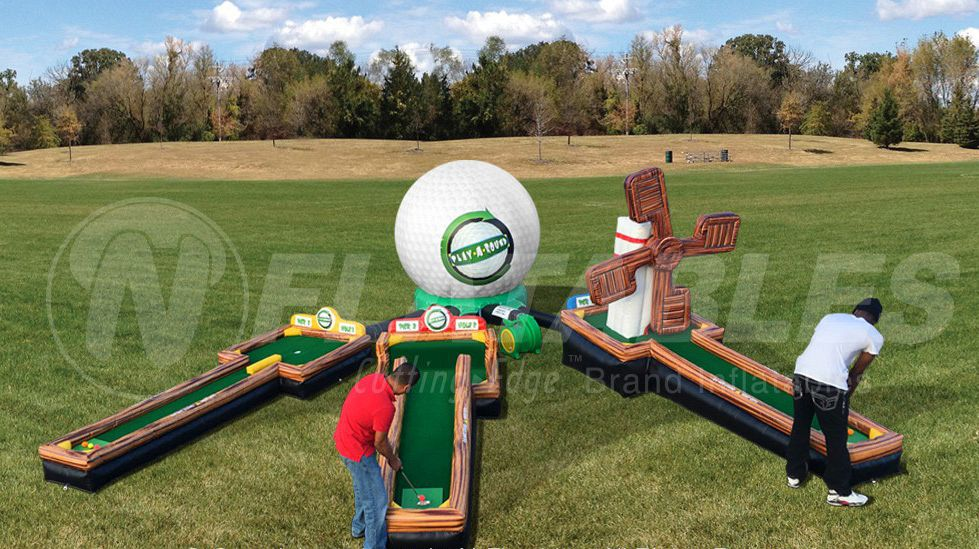 Play-A-Round Golf 3-Hole Mini Golf