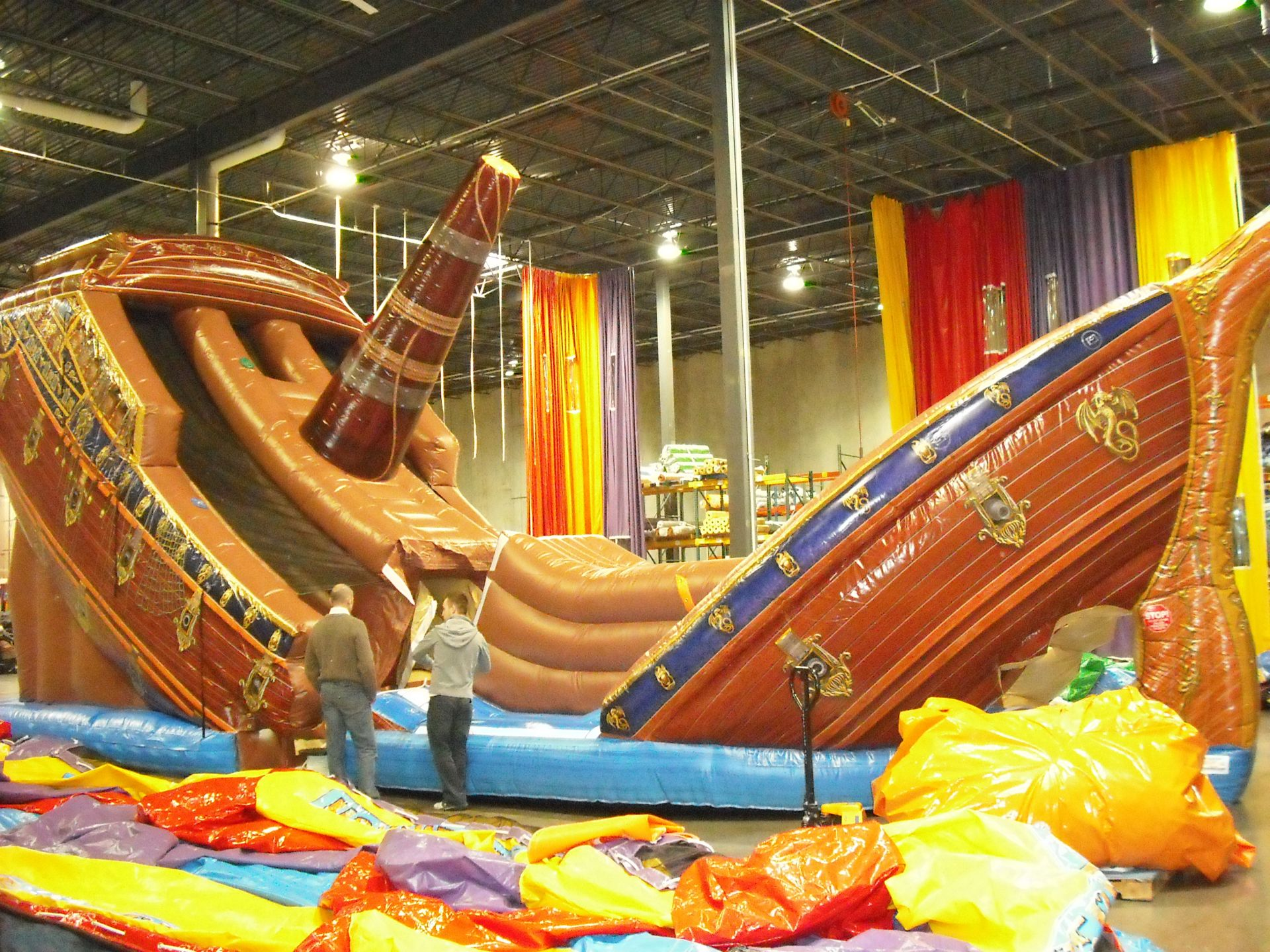 Inflatable pirate slide, children inflatable, inflatable for children, rental inflatable, inflatable ship