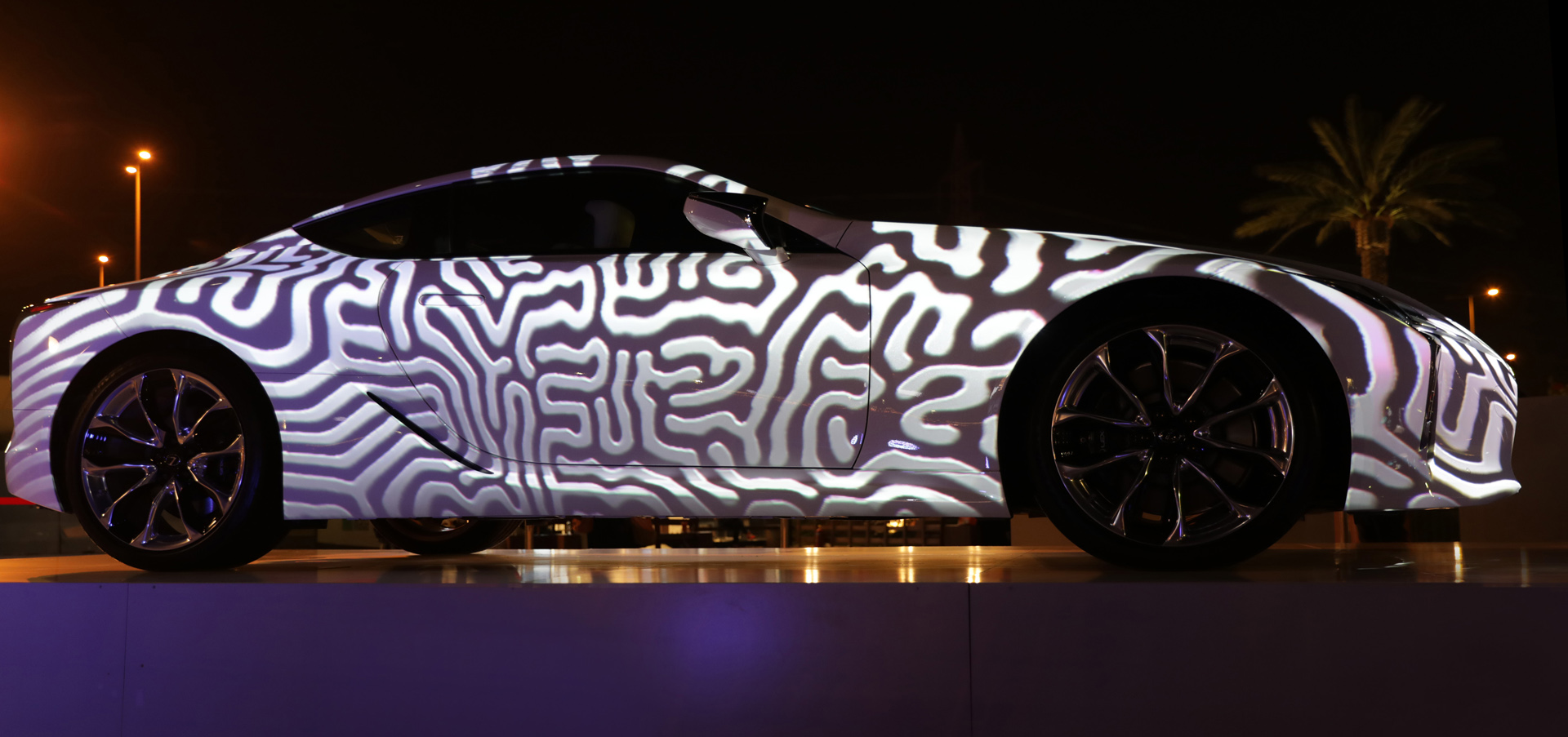 Lexus video mapping