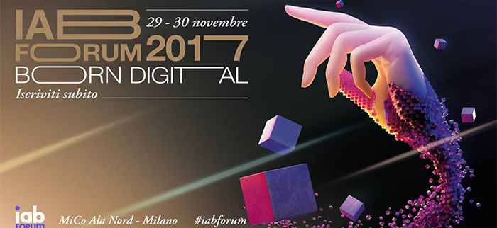 3e60events allo IAB forum 2017